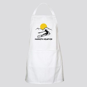 Mammoth Mountain Snowboard BBQ Apron