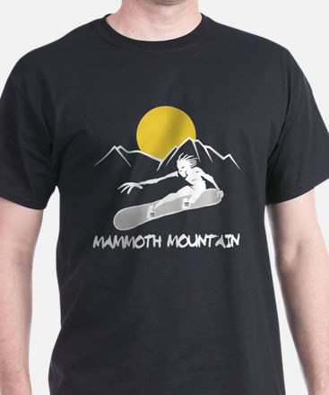 Mammoth Mountain Snowboard T-Shirt