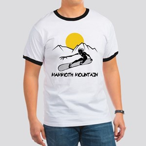 Mammoth Mountain Snowboard Ringer T