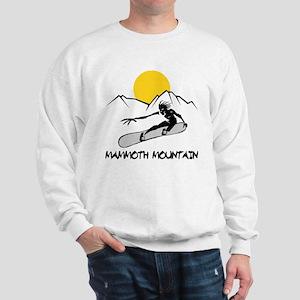 Mammoth Mountain Snowboard Sweatshirt