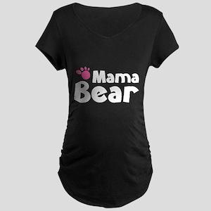 Mama Bear Maternity Dark T-Shirt