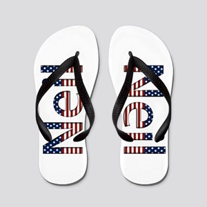 Neil Stars and Stripes Flip Flops