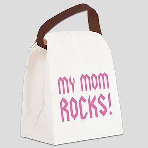 My Mom Rocks! Canvas Lunch Bag