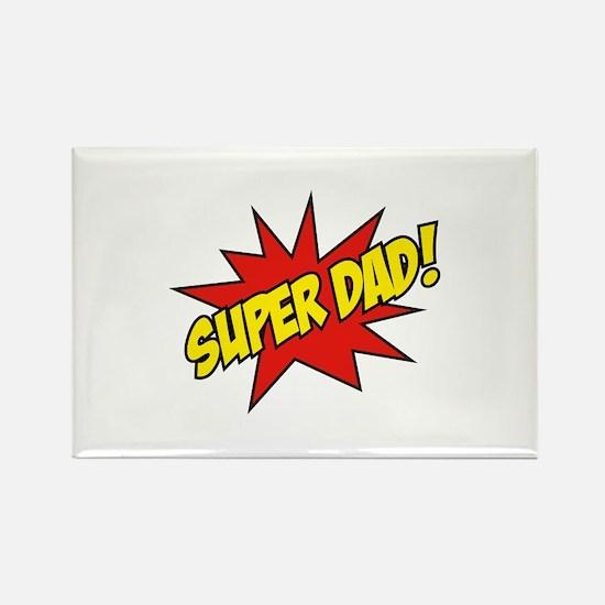 Super Dad! Rectangle Magnet (10 pack)