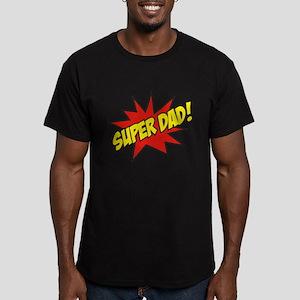 Super Dad! Men's Fitted T-Shirt (dark)