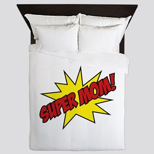 Super Mom! Queen Duvet