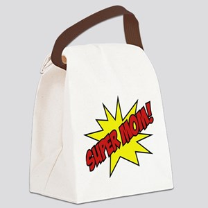 Super Mom! Canvas Lunch Bag