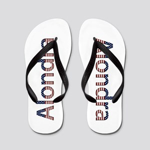 Alondra Stars and Stripes Flip Flops