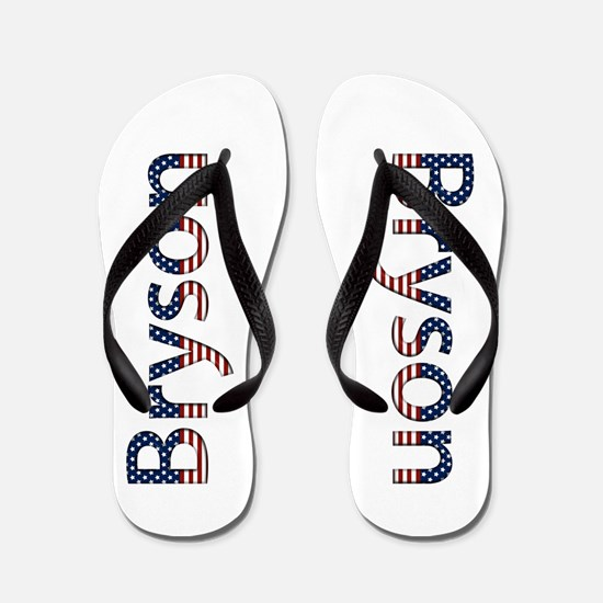 Bryson Stars and Stripes Flip Flops