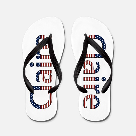 Claire Stars and Stripes Flip Flops