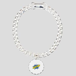 Super Dad! Charm Bracelet, One Charm
