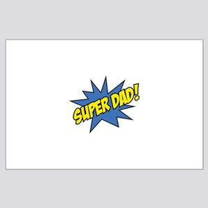 Super Dad! Large Poster