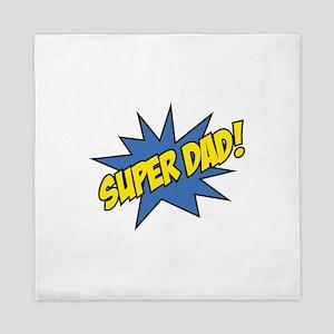 Super Dad! Queen Duvet