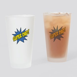 Super Dad! Drinking Glass