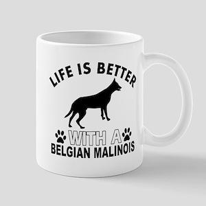 Belgian Malinois vector designs Mug