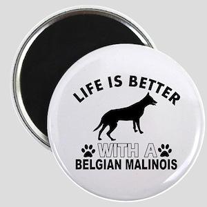 Belgian Malinois vector designs Magnet