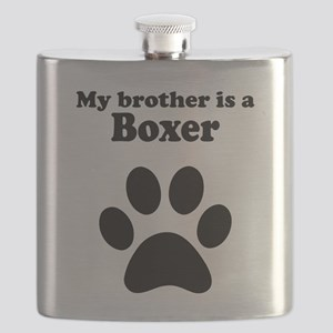 My Brother Is A Boxer Flask