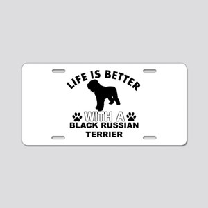 Black Russian Terrier vector designs Aluminum Lice