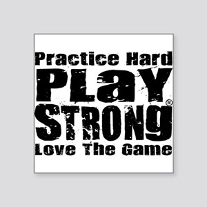 Play Strong Workout Sticker