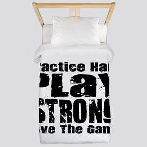 Play Strong Workout Twin Duvet
