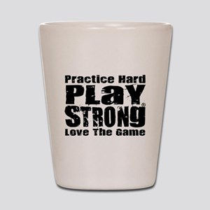 Play Strong Workout Shot Glass