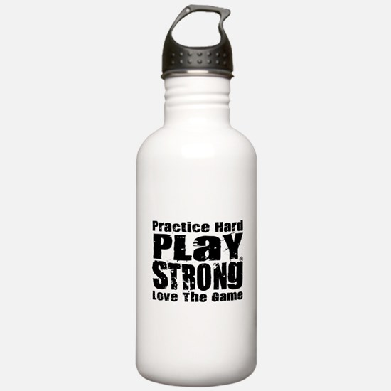 Play Strong Workout Water Bottle
