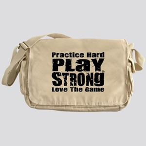 Play Strong Workout Messenger Bag