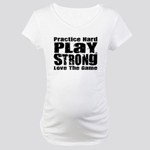 Play Strong Workout Maternity T-Shirt