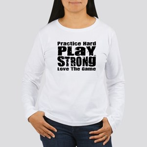 Play Strong Workout Long Sleeve T-Shirt