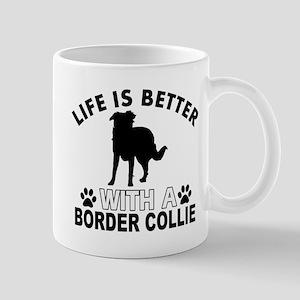 Border Collie vector designs Mug