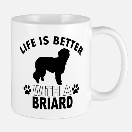 Briard vector designs Mug