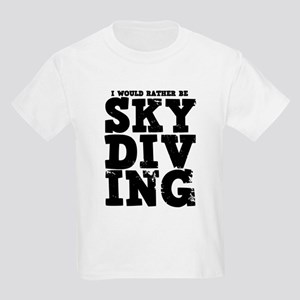 'Rather Be Skydiving' Kids Light T-Shirt