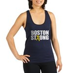 Boston Strong Ribbon Racerback Tank Top