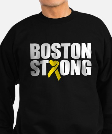 Boston Strong Ribbon Sweatshirt