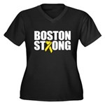 Boston Strong Ribbon Plus Size T-Shirt