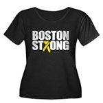 Boston Strong Ribbon Plus Size T-Shirt