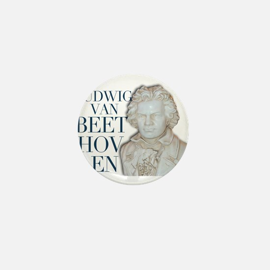 Beethoven Design 4 Mini Button (10 pack)
