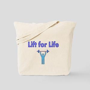 Lift for Life Tote Bag