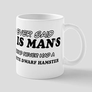 Winter White Dwarf Hamster designs Mug