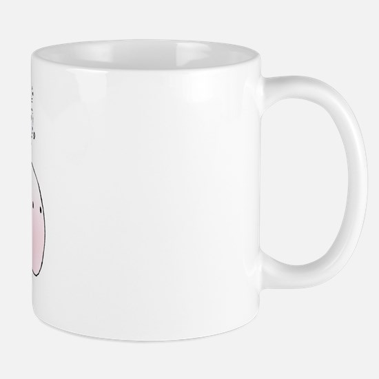 Pink Whale Mug