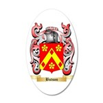 Butson 35x21 Oval Wall Decal