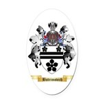 Butrimovich Oval Car Magnet