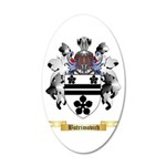 Butrimovich 20x12 Oval Wall Decal