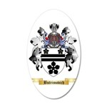 Butrimovich 35x21 Oval Wall Decal