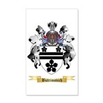 Butrimovich 35x21 Wall Decal