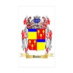 Butler Sticker (Rectangle 50 pk)