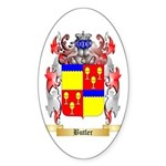 Butler Sticker (Oval)