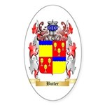 Butler Sticker (Oval 50 pk)