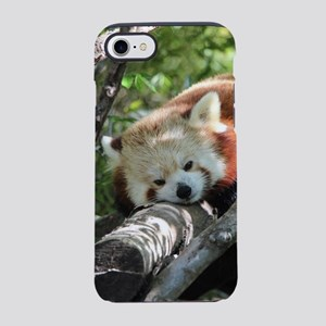 Sleepy Red Panda iPhone 7 Tough Case