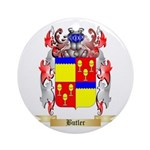 Butler Ornament (Round)